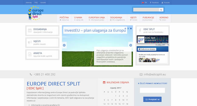 Europe Direct Split